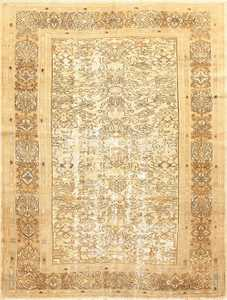 Shabby Chic Antique Persian Bibkabad Rug 50680 Nazmiyal
