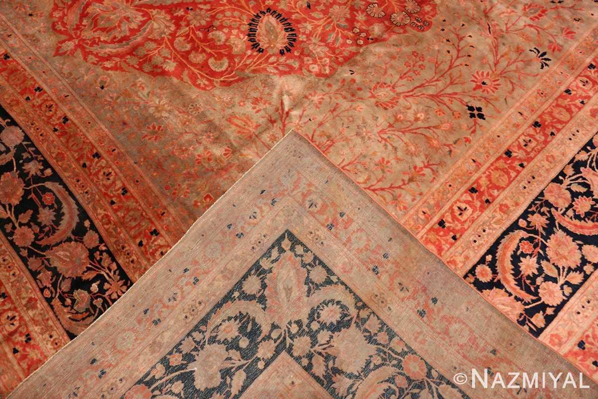 Back large antique Persian Mohtashem Kashan rug 48844 by Nazmiyal