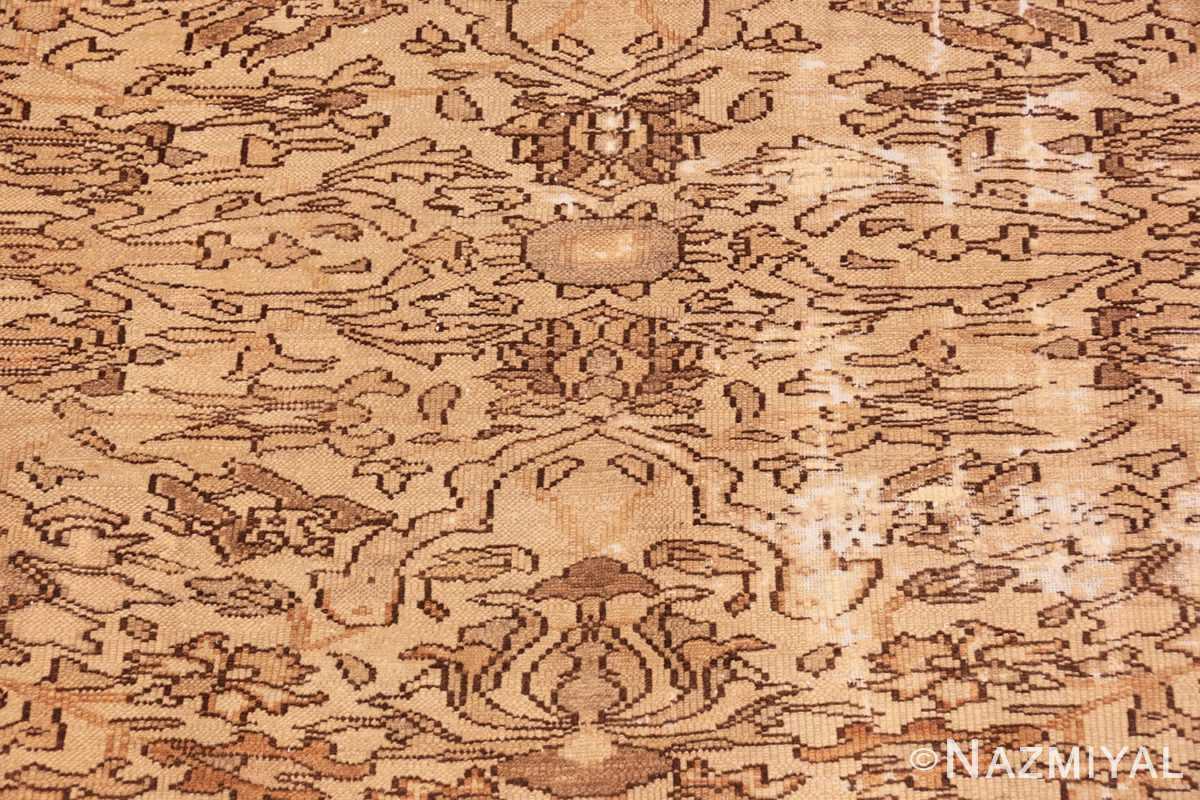 Background Decorative Antique Persian Bibkabad Shabby chic rug 50680 by Nazmiyal