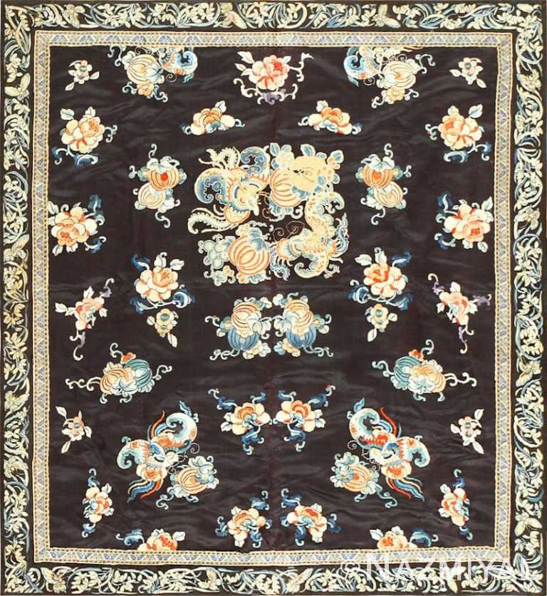 Beautiful and Fine Antique Chinese Textile 48980 Nazmiyal