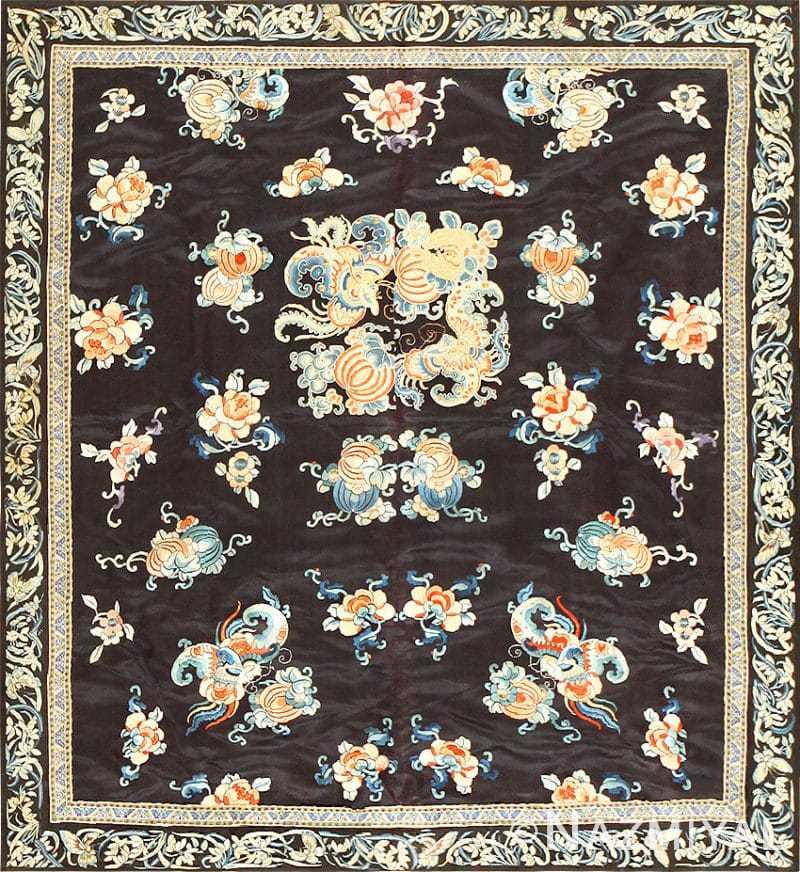Beautiful and Fine Antique Chinese Textile 48980 Nazmiyal