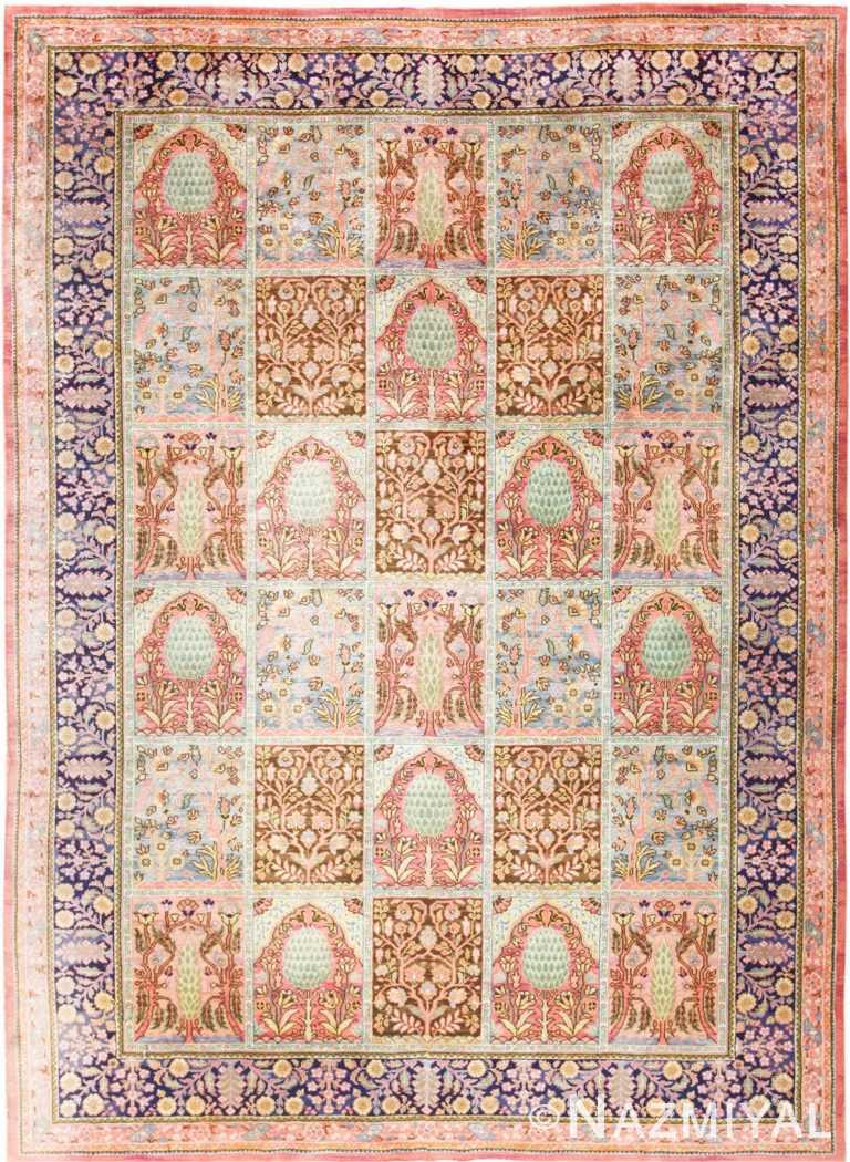 Beautiful Room Size Antique Israeli Bezalel Rug 48947 Nazmiyal