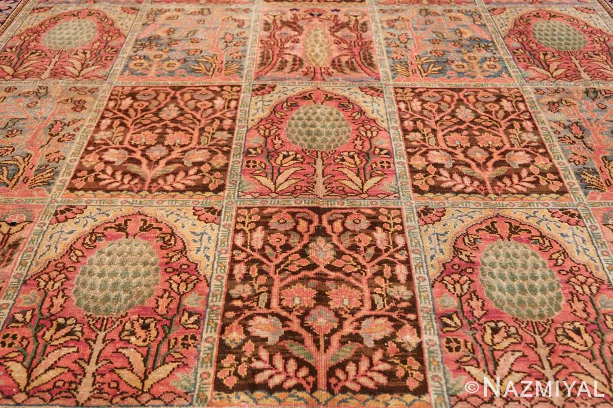 Beautiful Room Size Antique Israeli Bezalel Rug 48947 Field Design Nazmiyal
