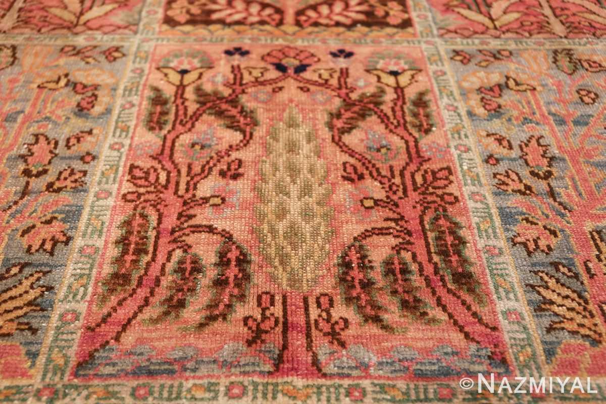 Beautiful Room Size Antique Israeli Bezalel Rug 48947 Pine Tree Nazmiyal