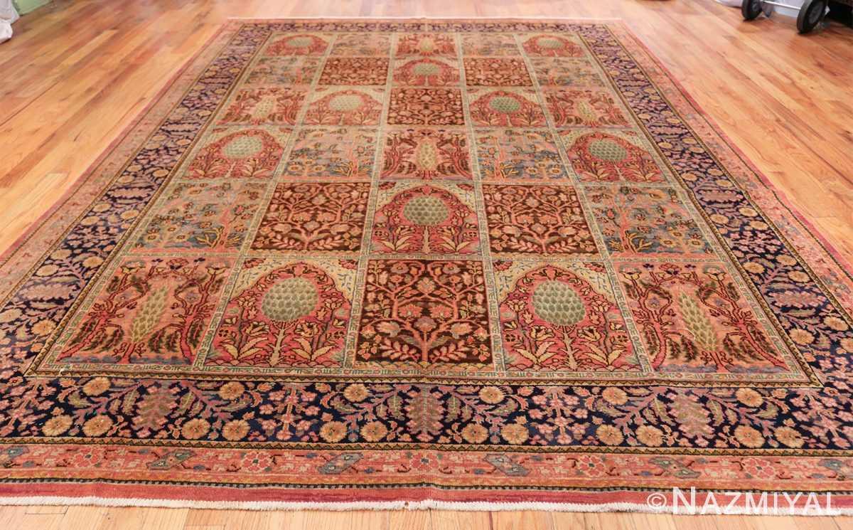Beautiful Room Size Antique Israeli Bezalel Rug 48947 Whole Design Nazmiyal