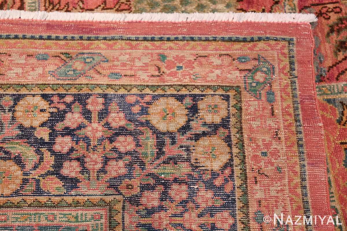 Beautiful Room Size Antique Israeli Bezalel Rug 48947 Woven Knots Nazmiyal