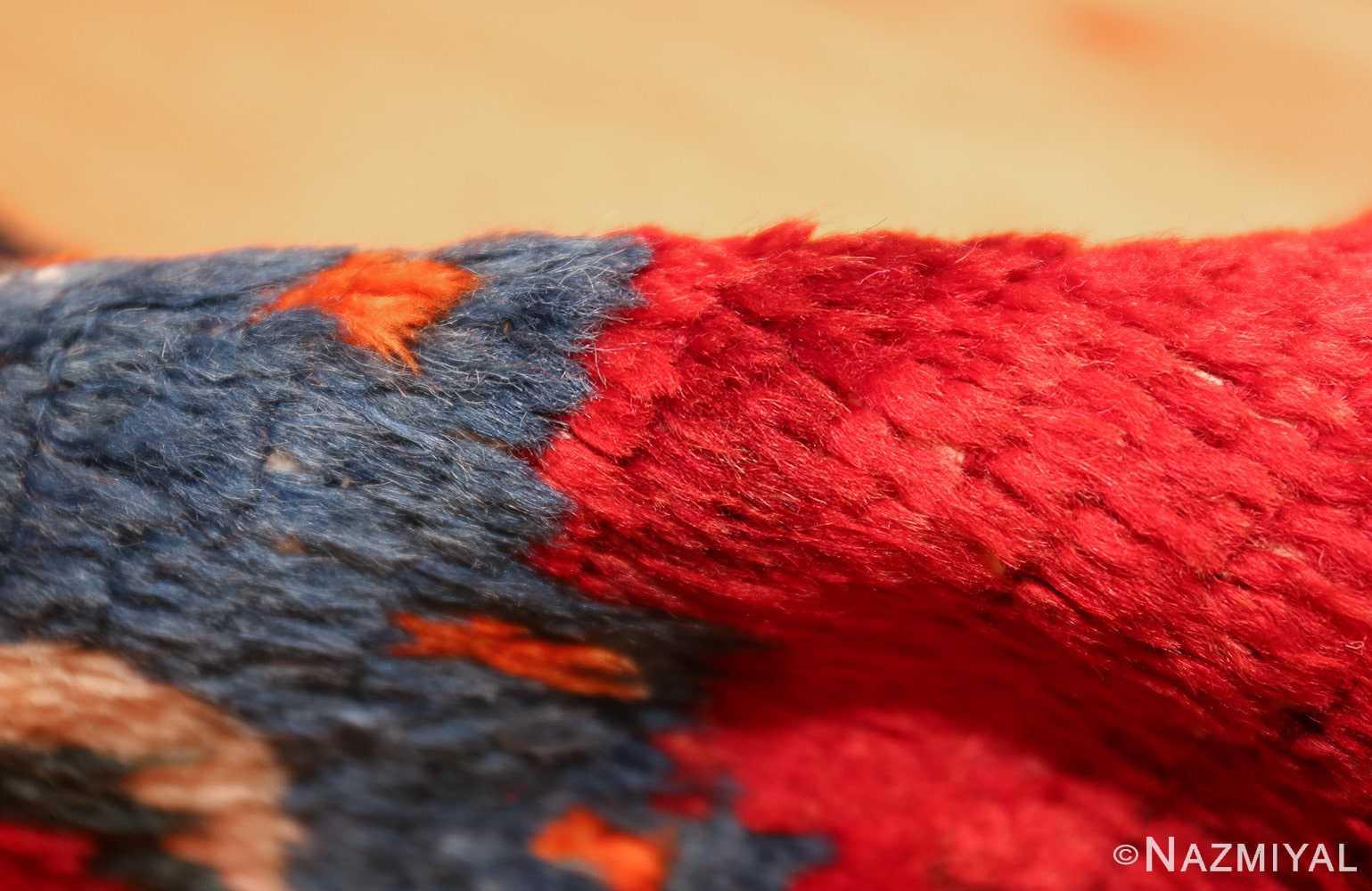 colorful shabby chic vintage persian gabbeh rug 48968 pile Nazmiyal