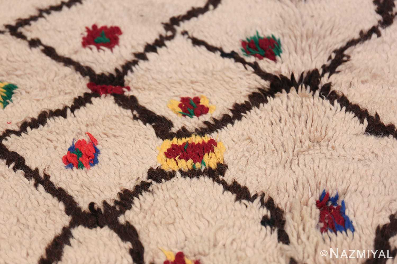 Tribal Colorful Vintage Moroccan Berber Shag Rug 48953