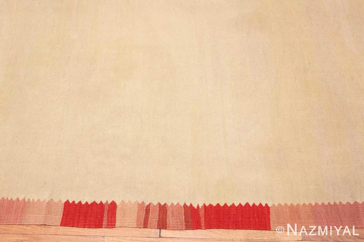 Border Large oversized vintage Folk Art Romanian Bessarabian Kilim rug 48871 by Nazmiyal