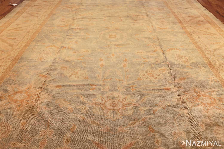 decorative antique turkish oushak rug 48941 field Nazmiyal