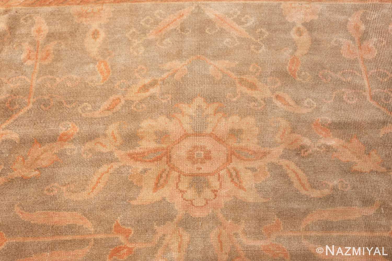 decorative antique turkish oushak rug 48941 sunflower Nazmiyal