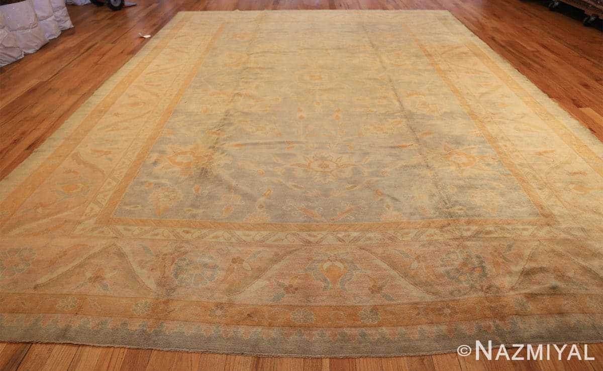 decorative antique turkish oushak rug 48941 whole Nazmiyal