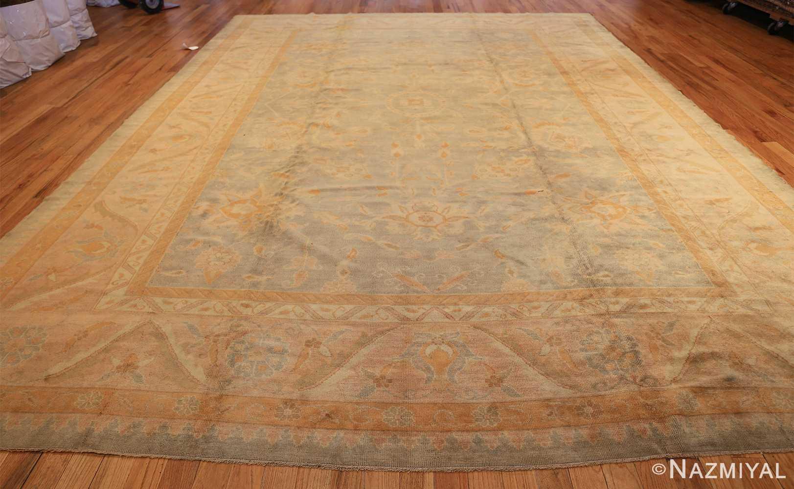 decorative antique turkish oushak rug 48941 whole Nazmiyal