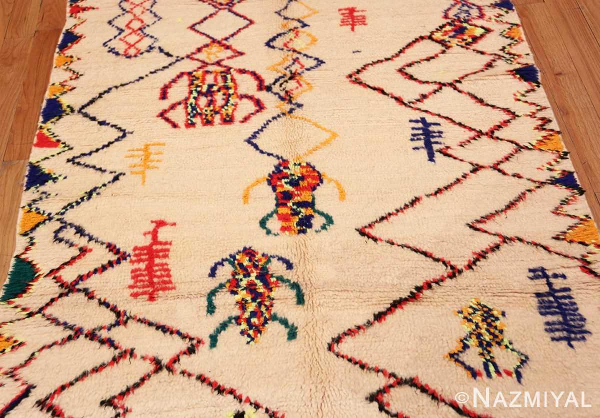 Field Vintage Shaggy Moroccan Azilal rug 48948 by Nazmiyal