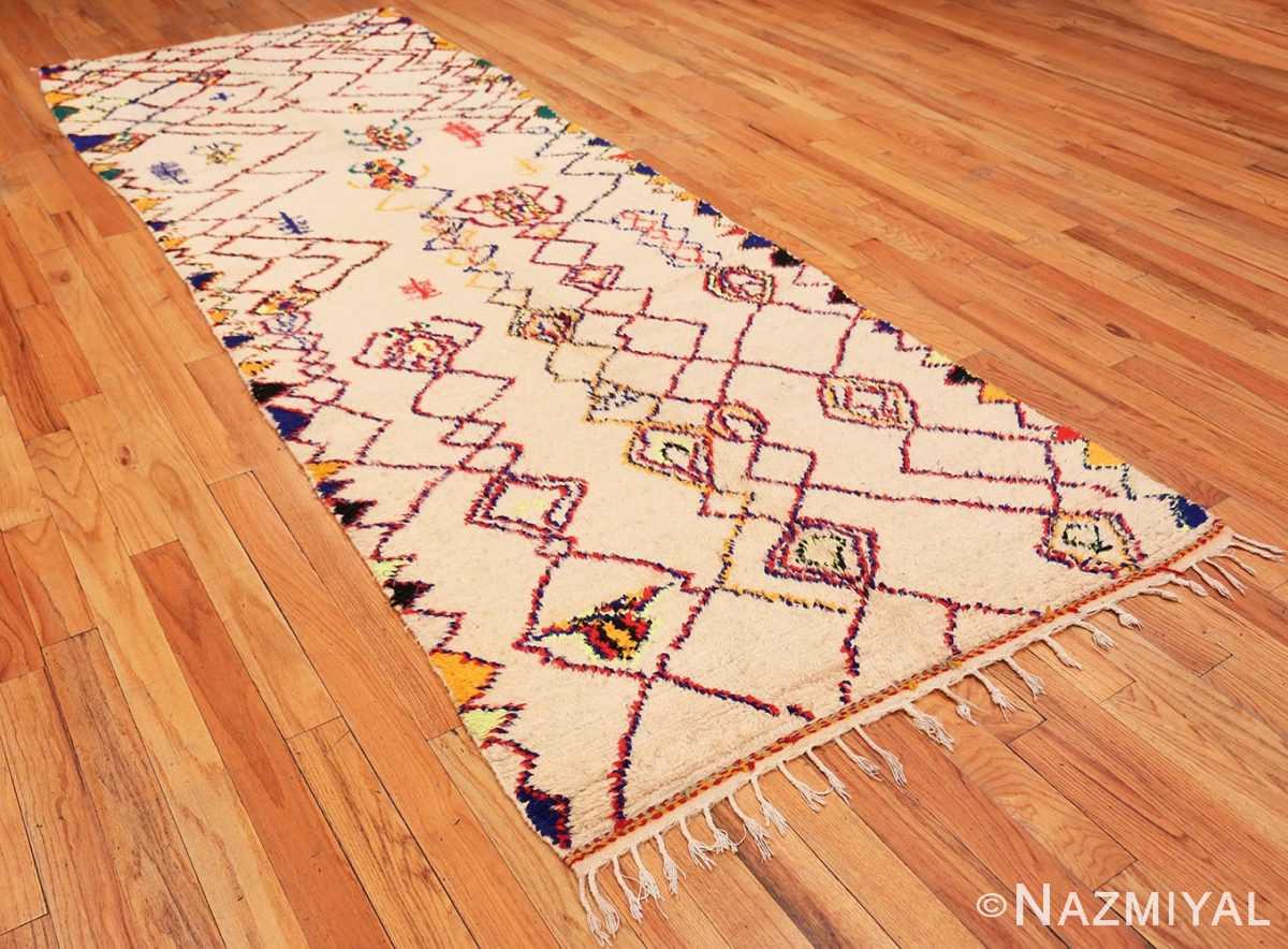Full Vintage Shaggy Moroccan Azilal rug 48948 by Nazmiyal