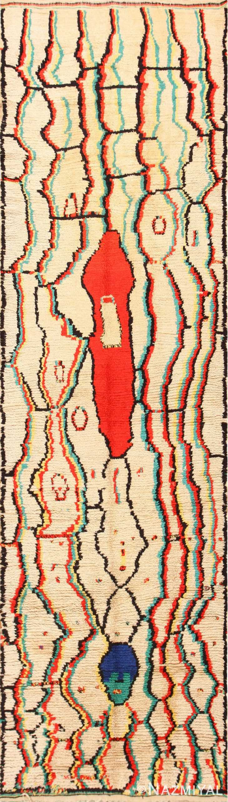 Gallery Size Vintage Berber Moroccan Rug 48948 Large Image