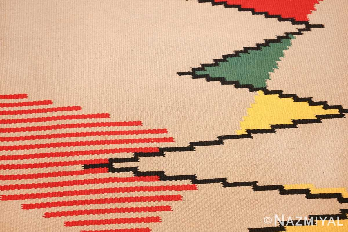 gallery size vintage french kilim rug by antonin kybal 48892 pattern Nazmiyal