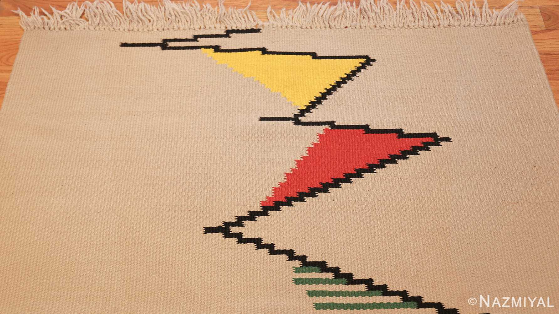 gallery size vintage french kilim rug by antonin kybal 48892 top Nazmiyal