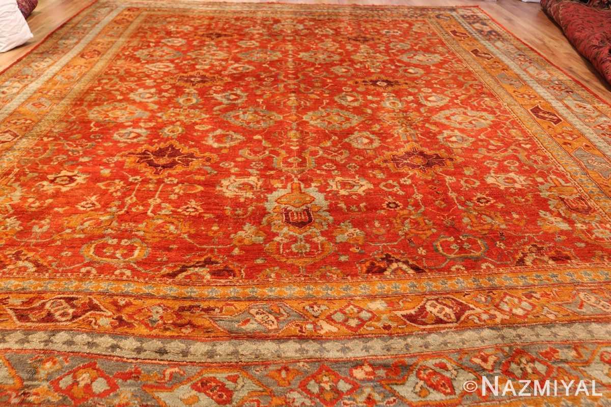 large luxurious antique turkish angora oushak rug 48923 whole Nazmiyal