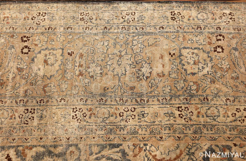 large oversized antique light blue persian khorassan rug 50707 border Nazmiyal