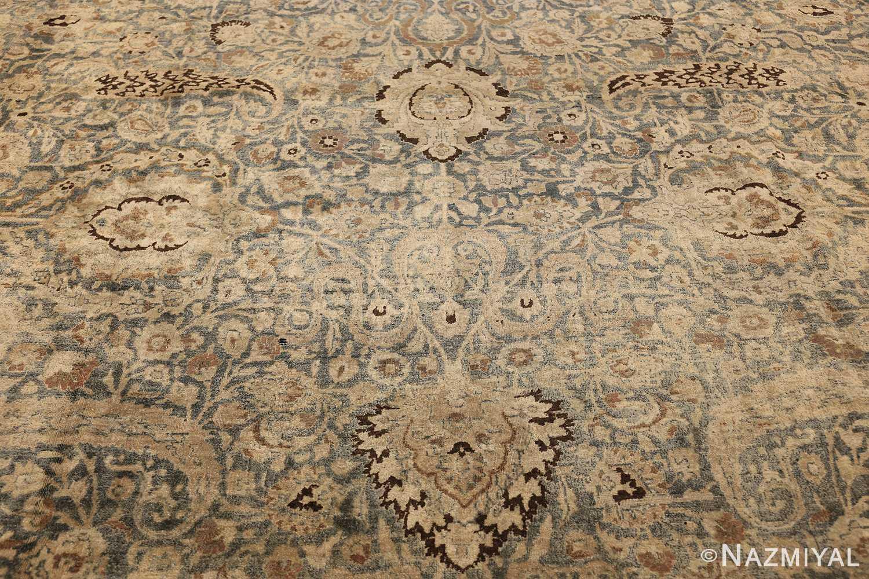 large oversized antique light blue persian khorassan rug 50707 field Nazmiyal