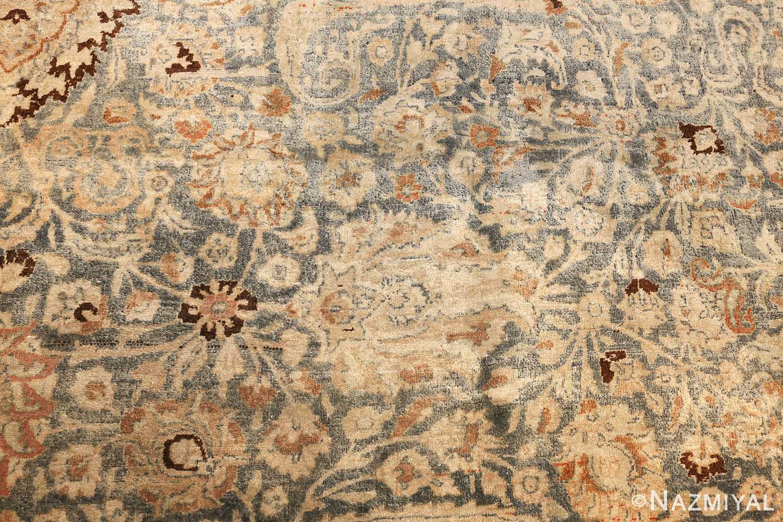 large oversized antique light blue persian khorassan rug 50707 foliage Nazmiyal