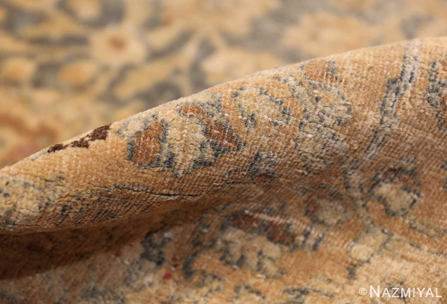 large oversized antique light blue persian khorassan rug 50707 pile Nazmiyal