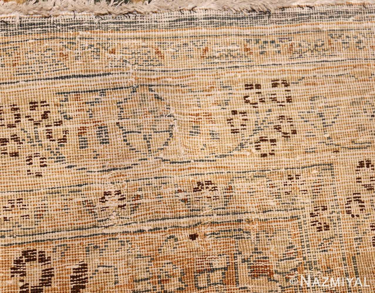 large oversized antique light blue persian khorassan rug 50707 weave Nazmiyal