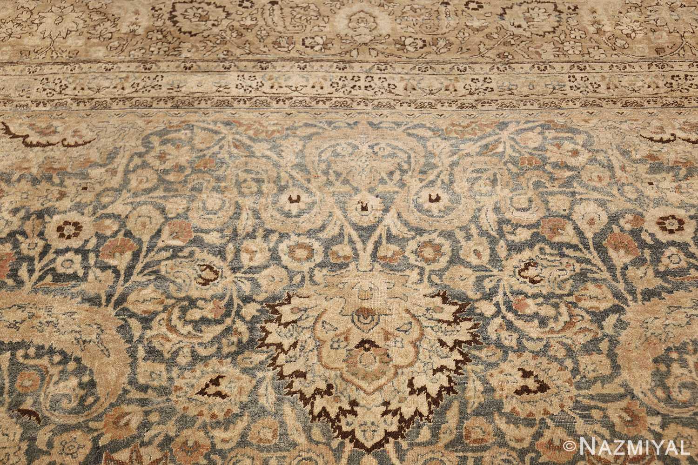 large oversized antique light blue persian khorassan rug 50707 white Nazmiyal