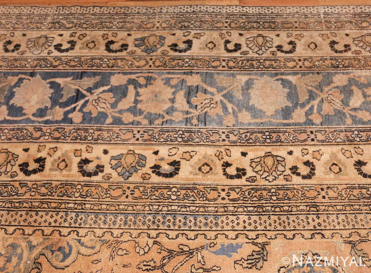 large oversized oriental antique persian khorassan rug 47699 border Nazmiyal