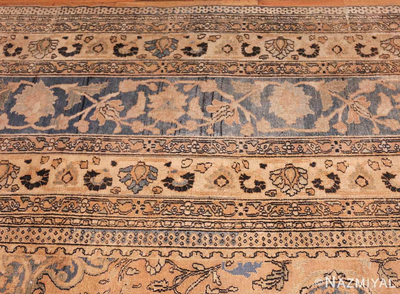large oversized oriental antique persian khorassan rug 47699 border Nazmiyal