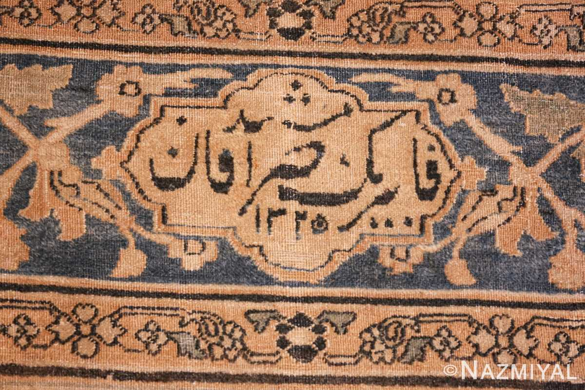 large oversized oriental antique persian khorassan rug 47699 date Nazmiyal