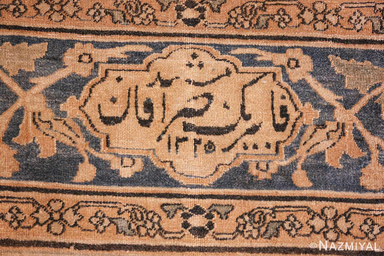 large oversized oriental antique persian khorassan rug 47699 date Nazmiyal