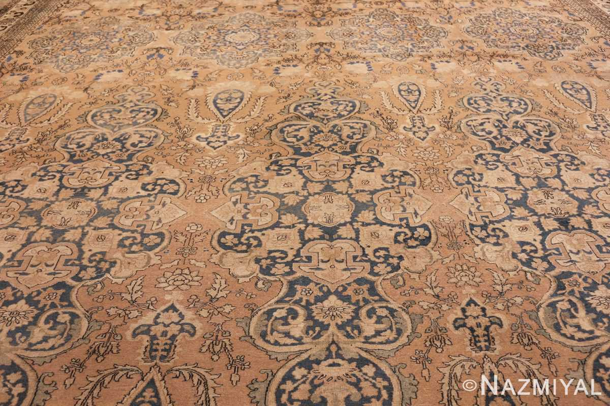 large oversized oriental antique persian khorassan rug 47699 field Nazmiyal