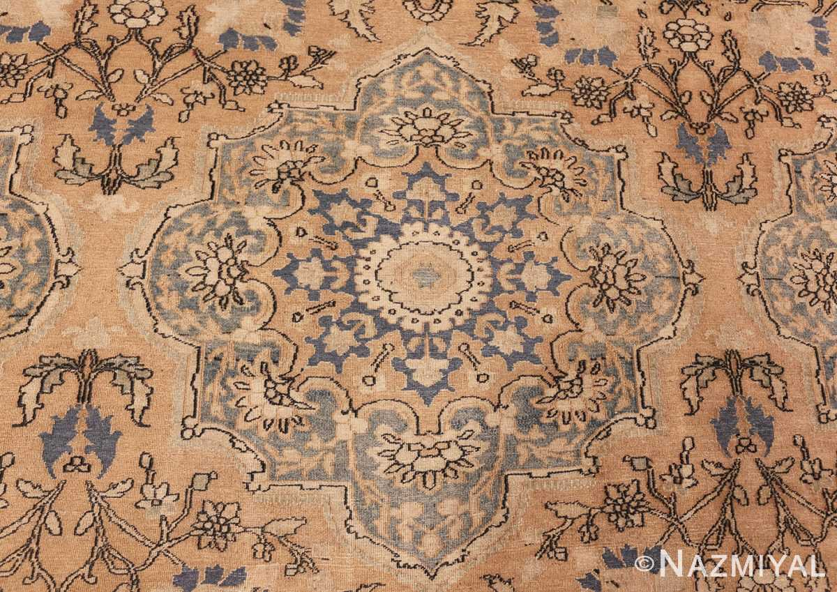 large oversized oriental antique persian khorassan rug 47699 medallion Nazmiyal