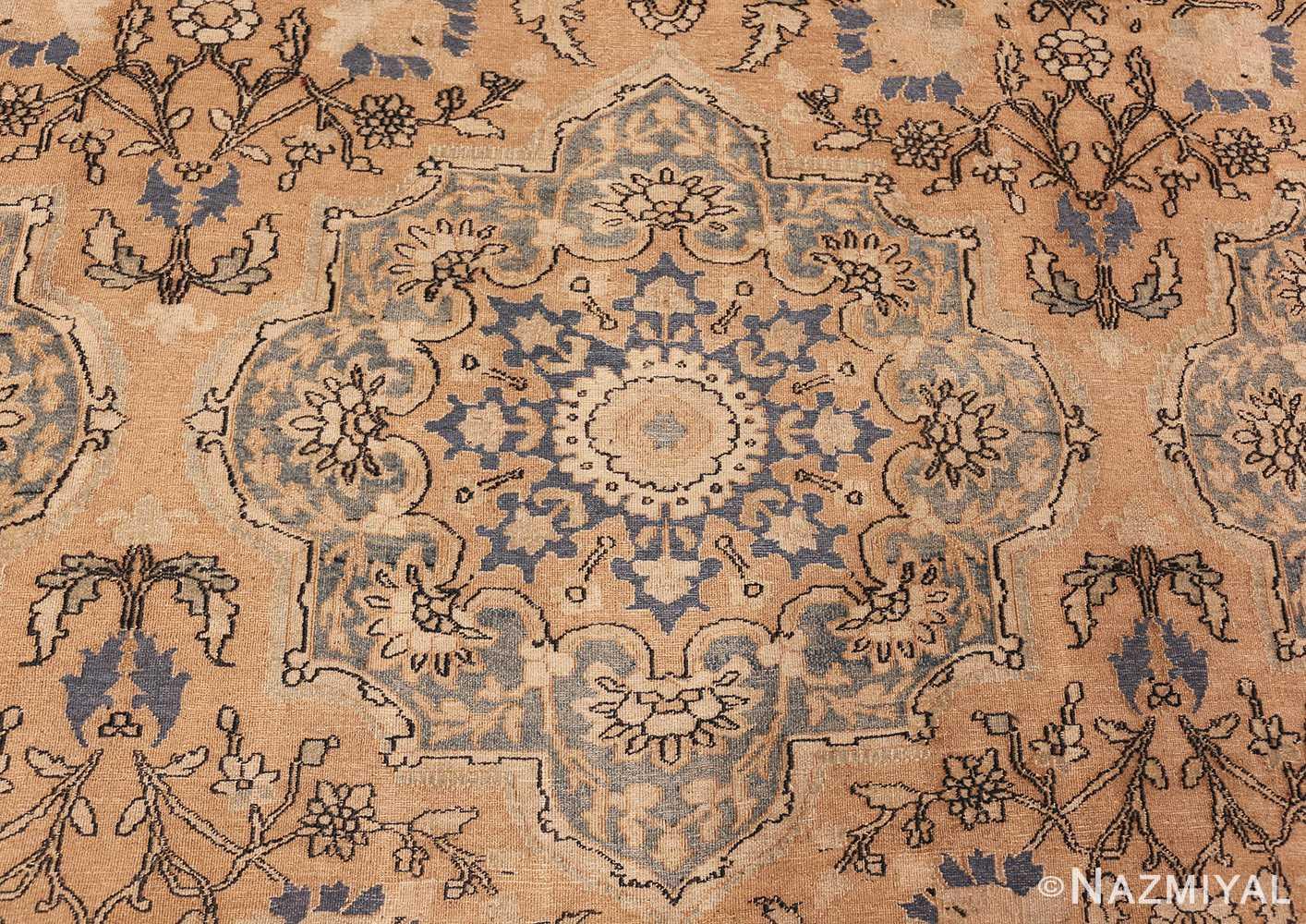 large oversized oriental antique persian khorassan rug 47699 medallion Nazmiyal