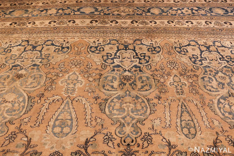 large oversized oriental antique persian khorassan rug 47699 top Nazmiyal