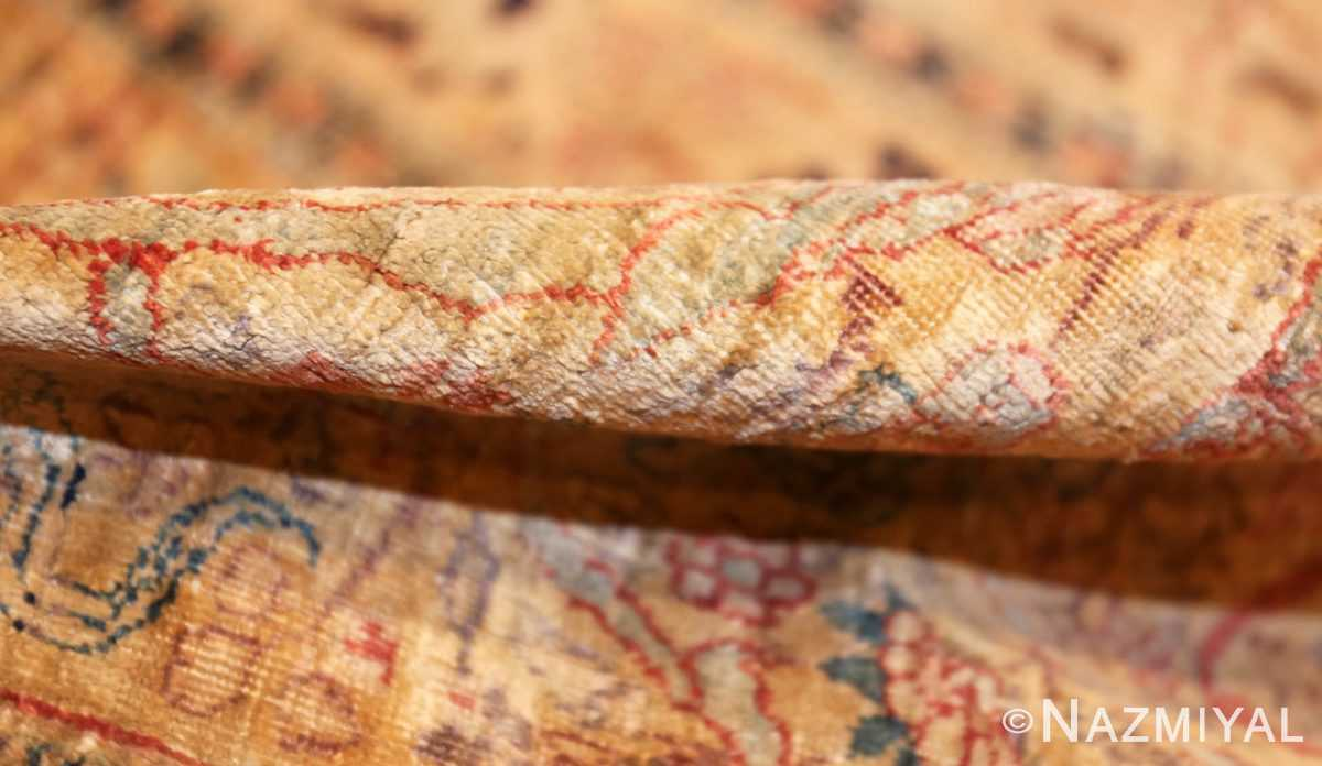 magnificent large oversized antique persian silk tabriz haji jalili rug 48981 pile Nazmiyal