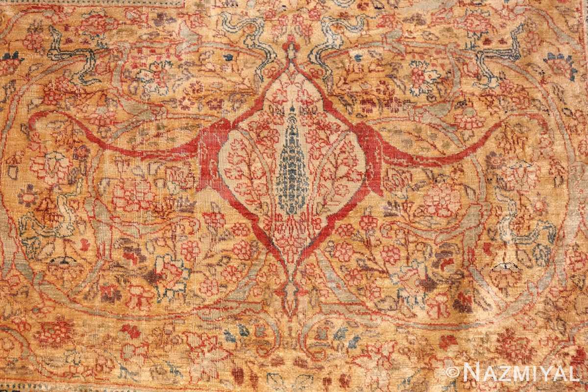 magnificent large oversized antique persian silk tabriz haji jalili rug 48981 pine Nazmiyal