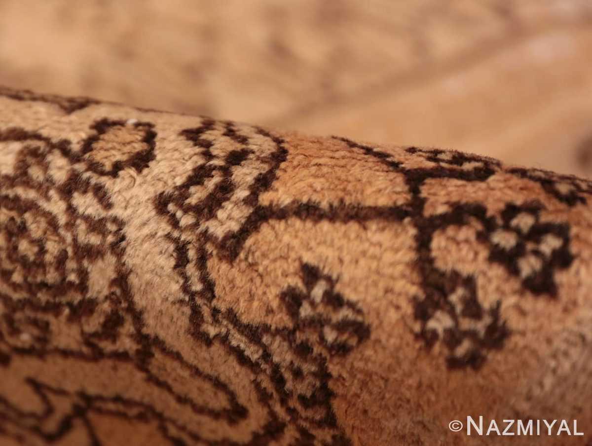 Pile Decorative Antique Persian Bibkabad Shabby chic rug 50680 by Nazmiyal