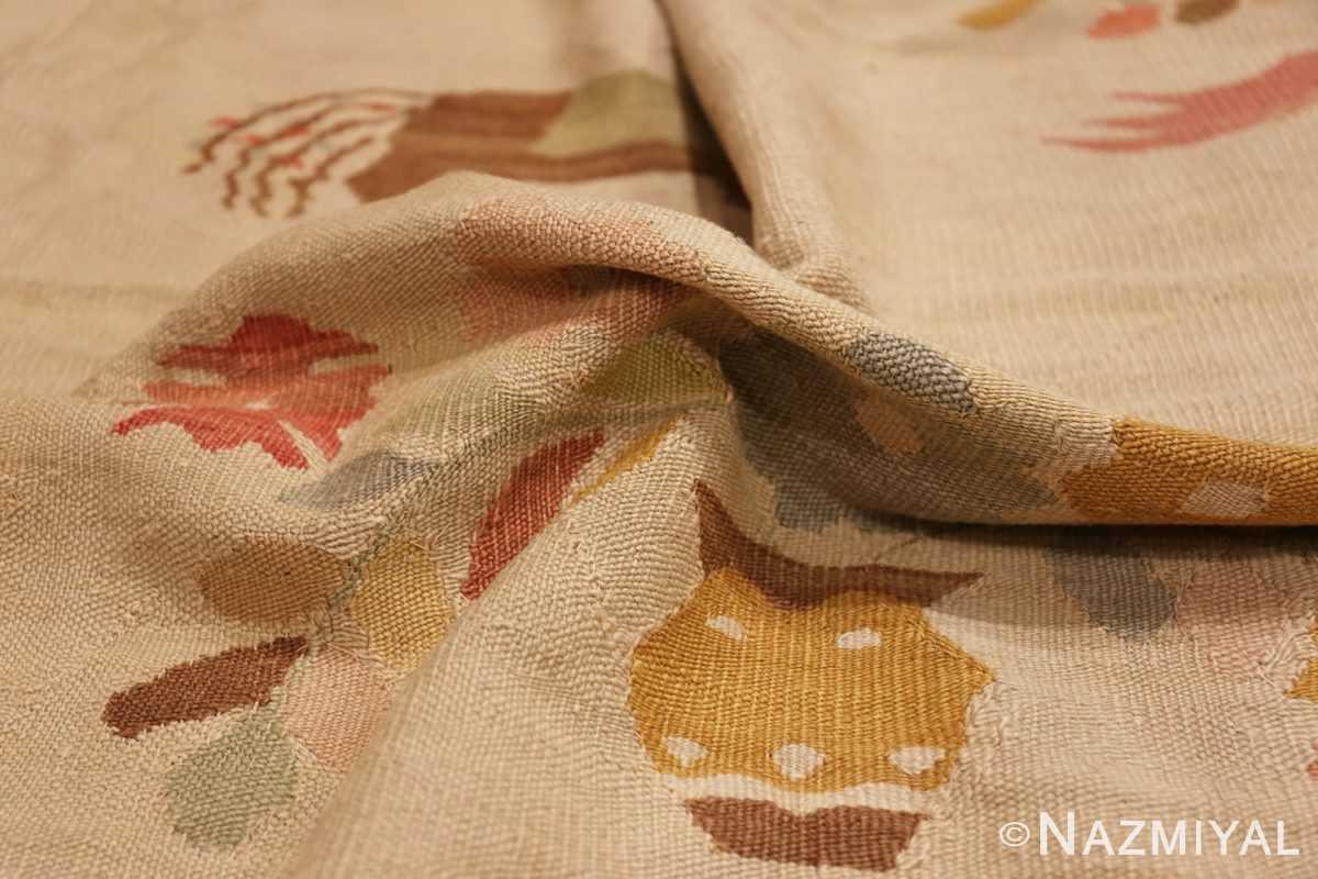 Pile Large oversized vintage Folk Art Romanian Bessarabian Kilim rug 48871 by Nazmiyal