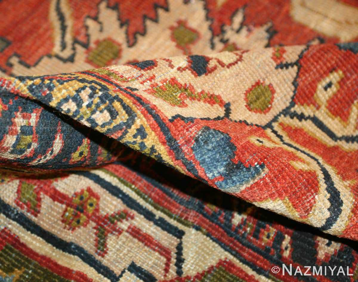 Pile Oversized Antique Persian Sultanabad rug 47700 by Nazmiyal