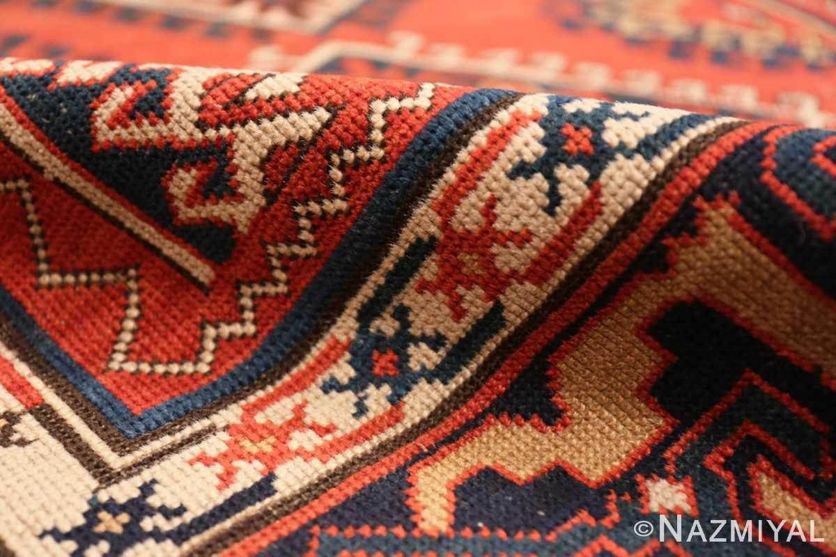 Pile Shabby chic tribal antique Caucasian Kazak rug 48827 by Nazmiyal