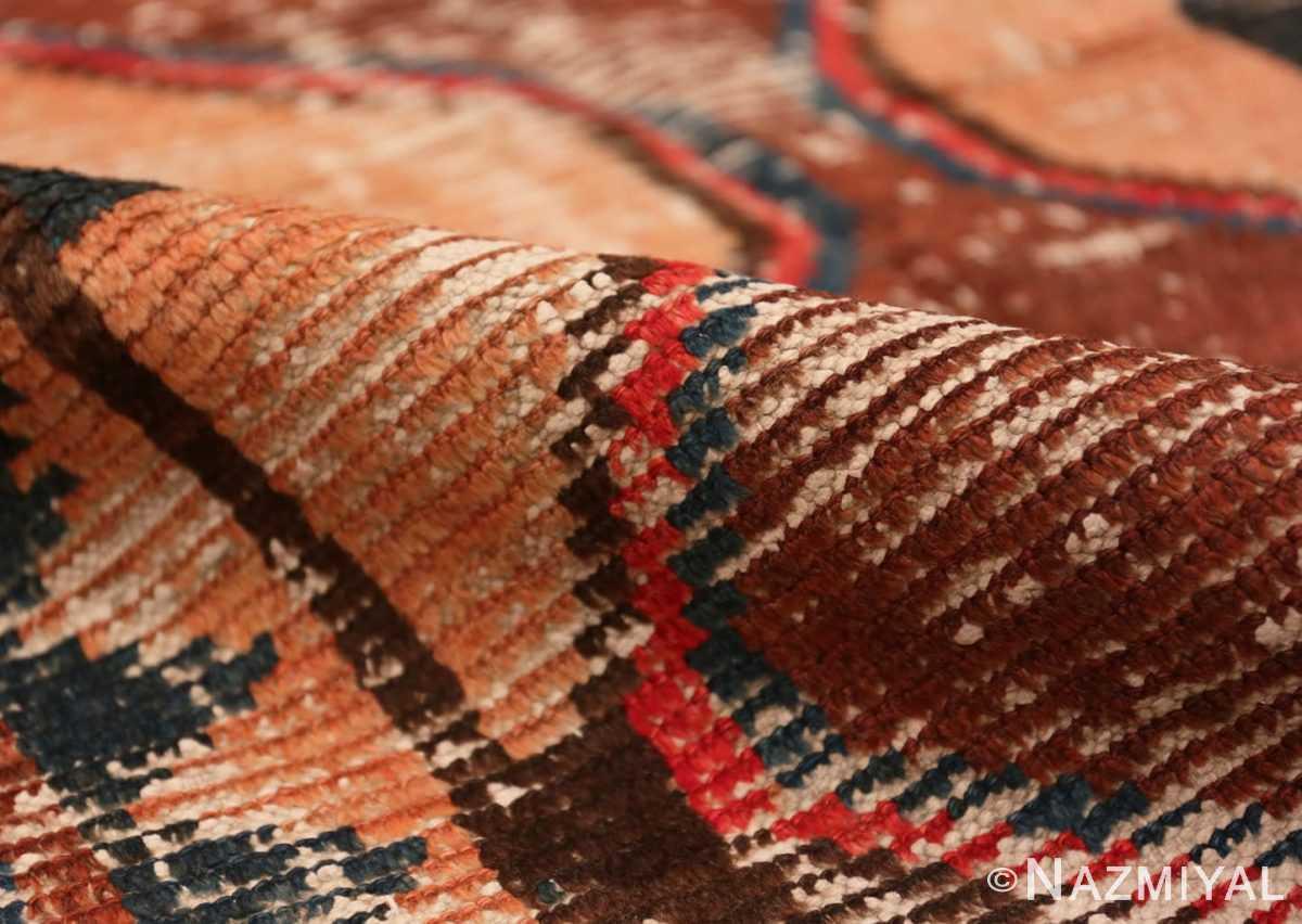 Pile Shabby chic Vintage Persian Gabbeh rug 48973 by Nazmiyal