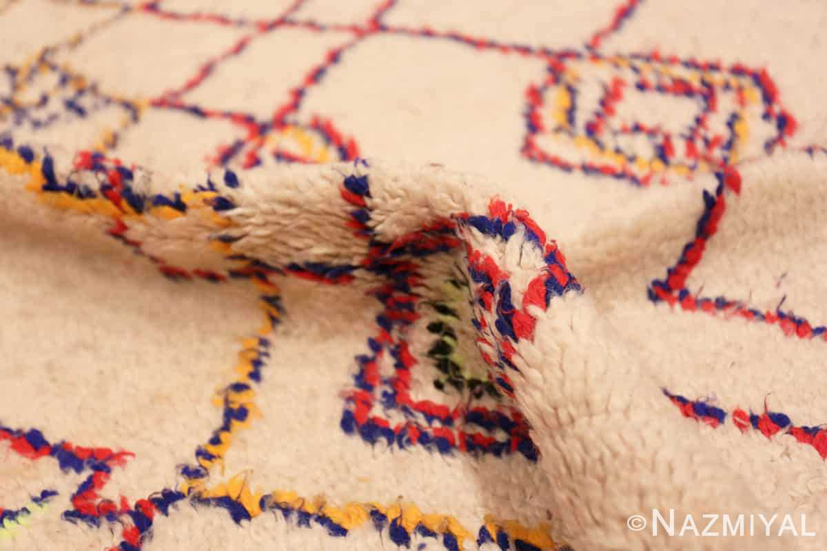Pile Vintage Shaggy Moroccan Azilal rug 48948 by Nazmiyal