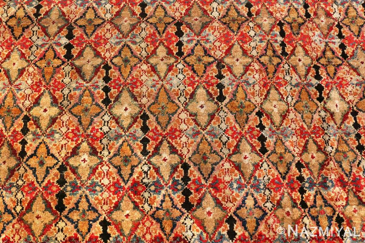 Picture of the design of the Rare Small Size Antique Indian Agra Rug 48854