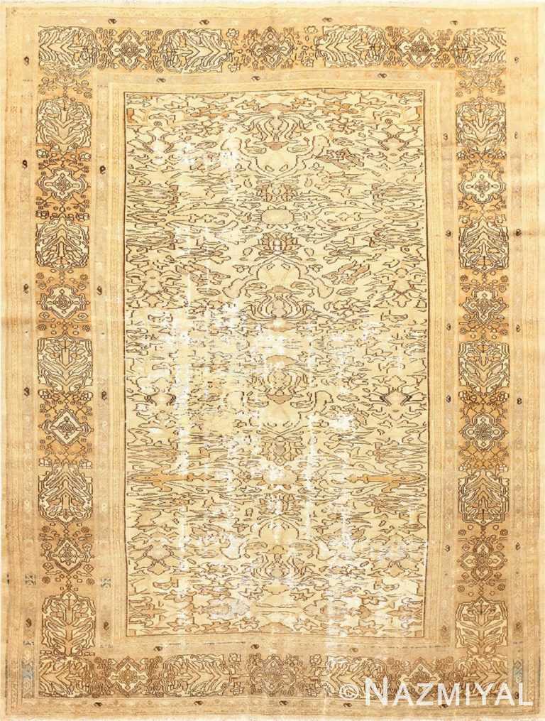 Shabby Chic Antique Persian Bibkabad Rug 50680 Nazmiyal