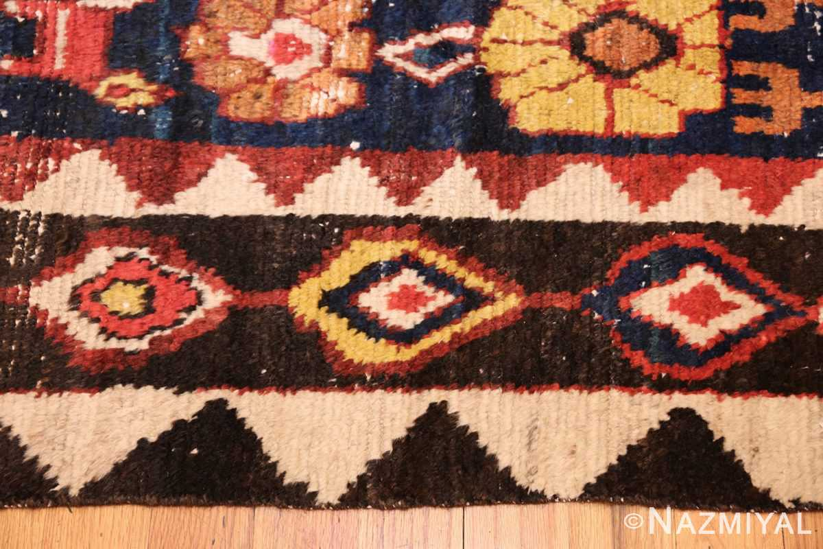 shabby chic tribal vintage gabbeh persian rug 48969 border Nazmiyal