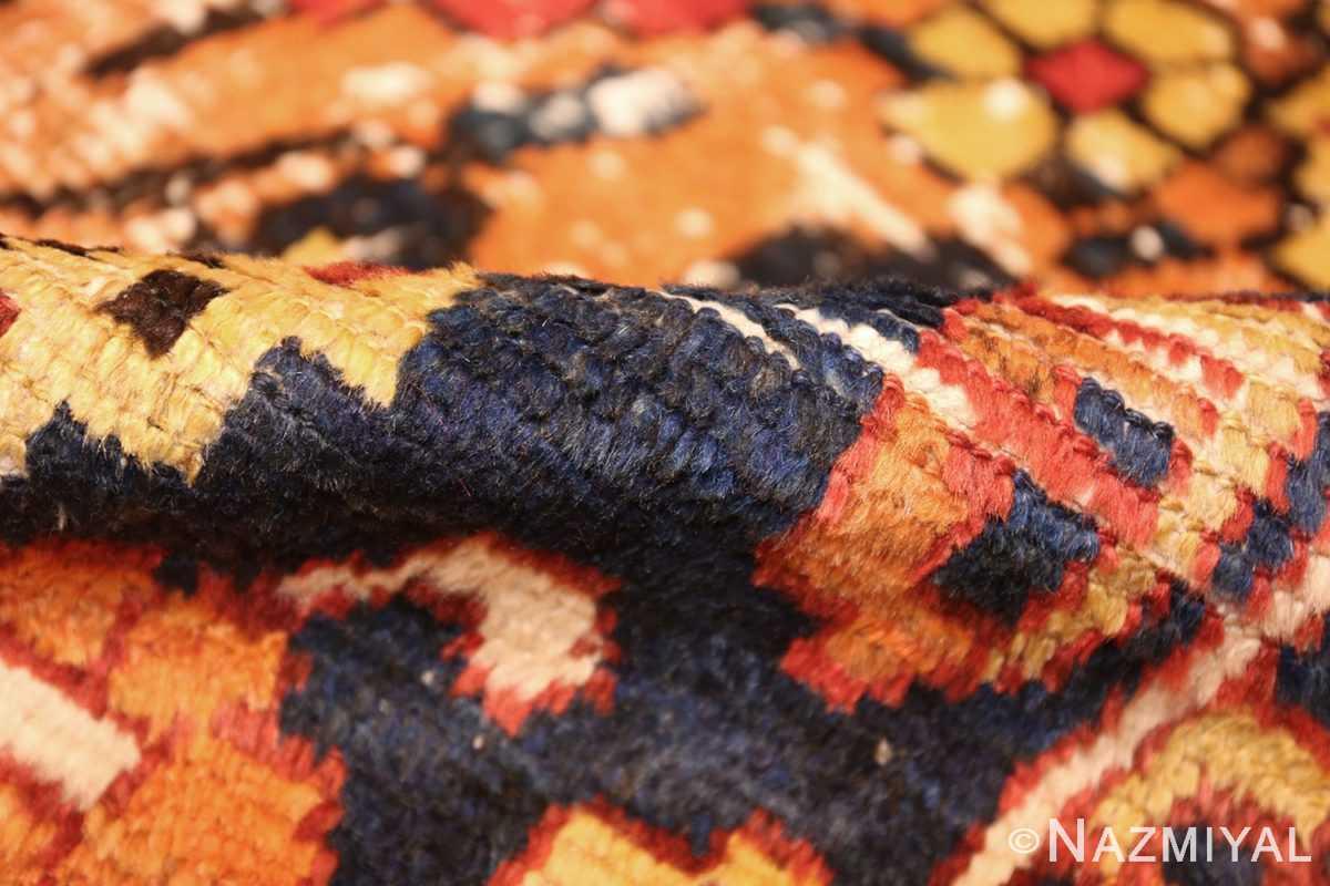 shabby chic tribal vintage gabbeh persian rug 48969 pile Nazmiyal