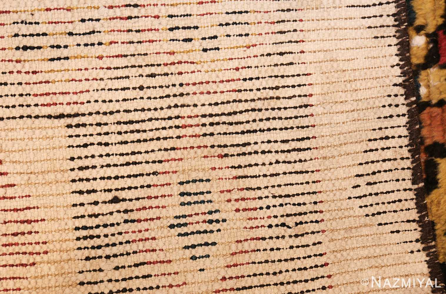 shabby chic tribal vintage gabbeh persian rug 48969 weave Nazmiyal